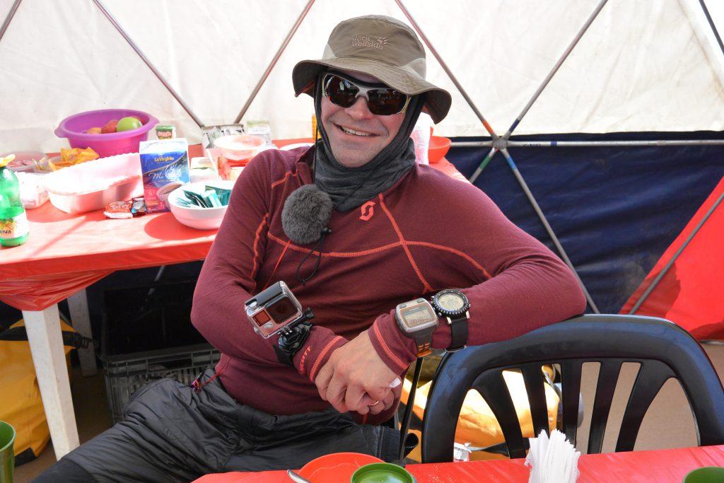 Aconcagua GoPro, Garmin Forerunner, Suunto Core Watch